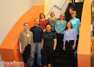 The UNC Wellness Centers Team! Photo by SP Murray