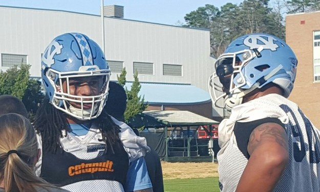 Spring Practice: Run Defense a Priority for UNC Football
