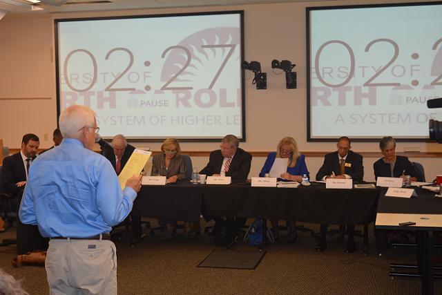State Legislature to Consider Shrinking UNC BoG