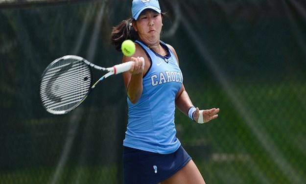 UNC Women's Tennis Slips Past Northwestern into Sweet 16