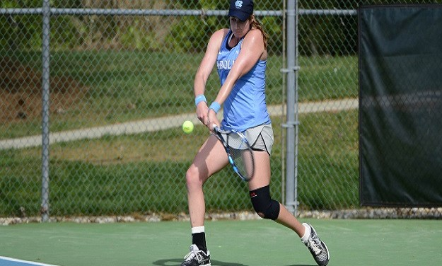 UNC Women's Tennis Knocks Off ETSU, Moves to Second Round in NCAA Tourney