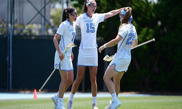 UNC Women's Lacrosse Final Four Bound After 10-6 Win Over Notre Dame