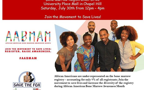 Save the Fox Campaign to Hold Bone Marrow Registration Drive