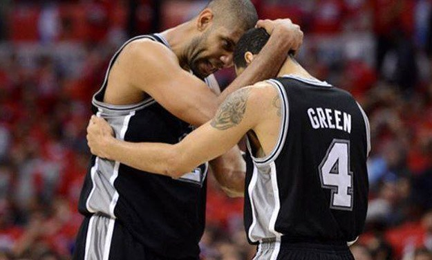 Danny Green Pays Tribute to Retiring Tim Duncan