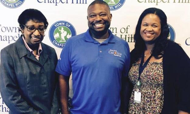 Chapel Hill Employee Receives The Highest Service Award