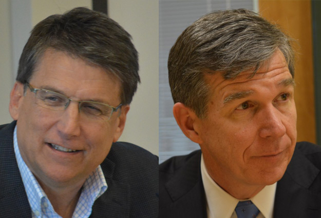 New Poll Shows Widening Gap in Race for NC Governor