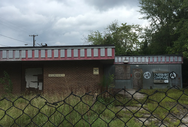 Abandoned CVS-Owned Building in Carrboro to be Demolished