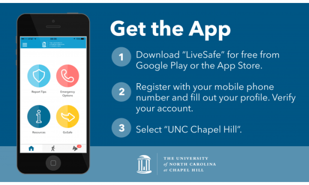 UNC Launches Mobile App for Campus Safety