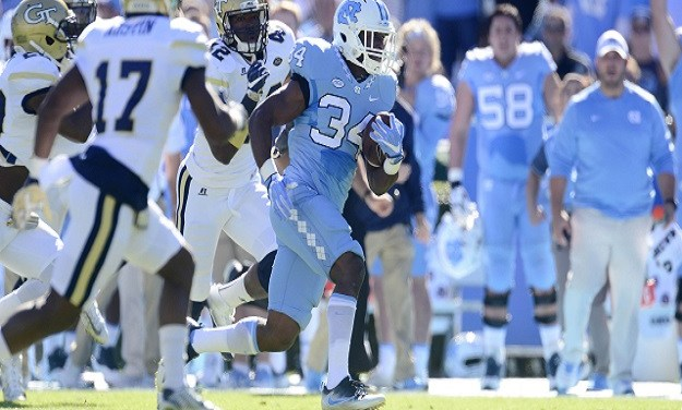 Hood Spearheads Dominant Offensive Output as No. 21 UNC Rolls Past Georgia Tech