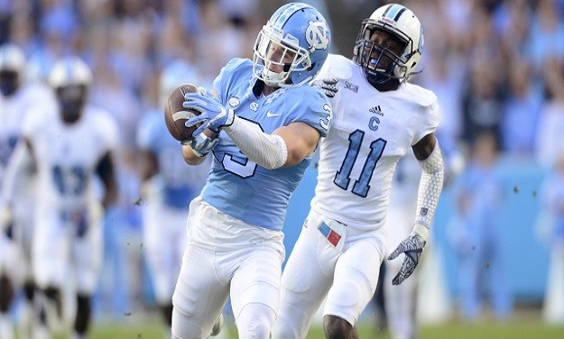 ACC Names Ryan Switzer Its Receiver of the Week