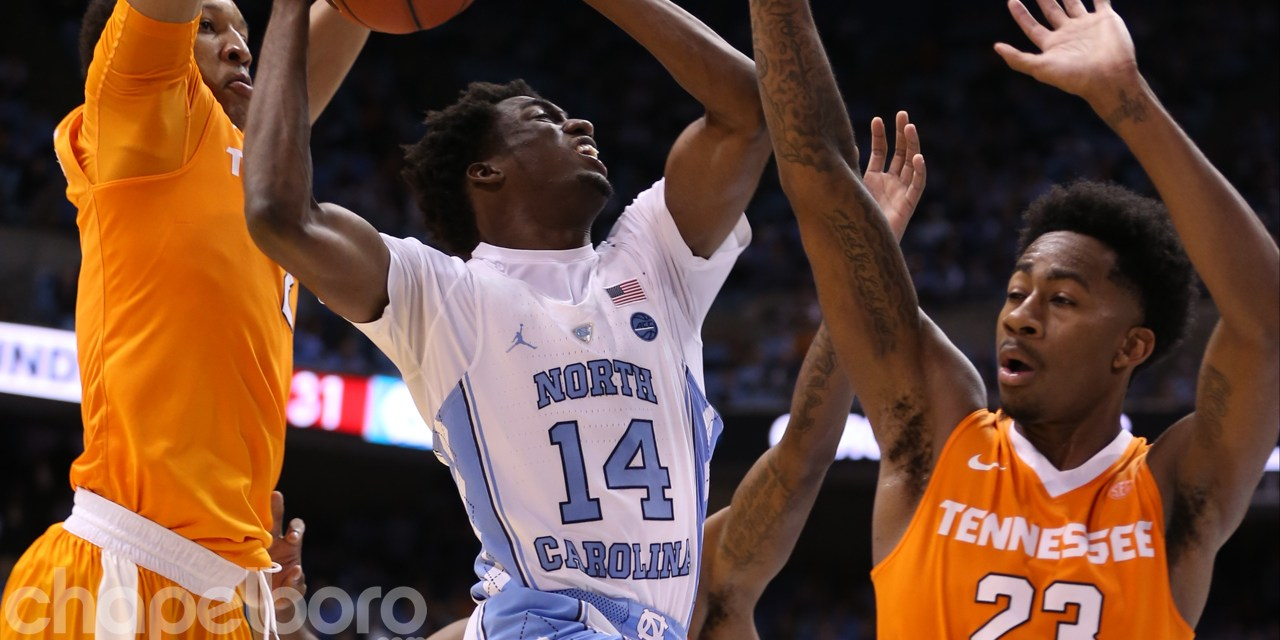 No. 7 UNC Survives Upset Scare Against Tennessee