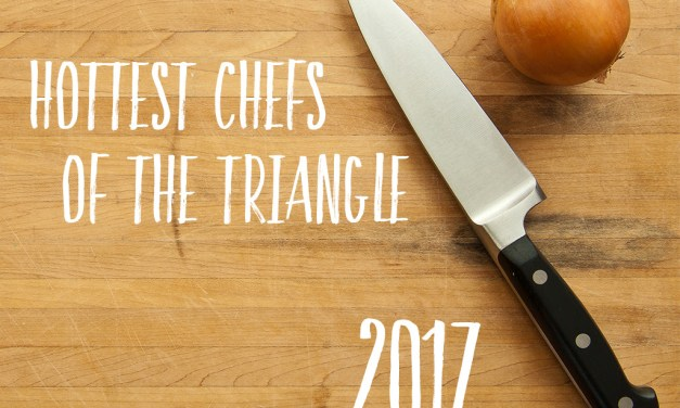 Tabletop Media Announces the 2017 Hottest Chefs of the Triangle Calendar