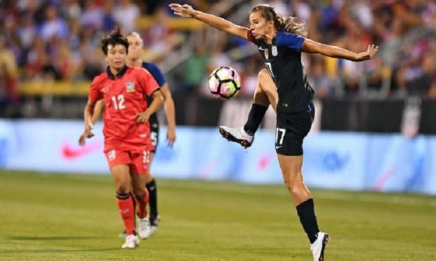 U.S. Soccer Selects Tobin Heath as Female Player of the Year
