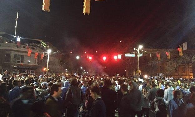 No Arrests Reported in Franklin Street Celebration