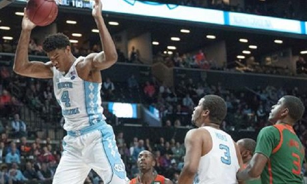 Hicks, UNC Surge Past Miami in Second Half, Move On to ACC Semifinals