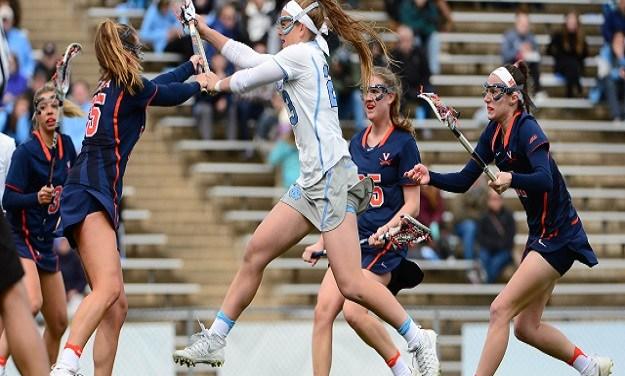 Hendrick Scores Seven Goals, Lifts UNC Women's Lacrosse to Blowout Win vs. Duke