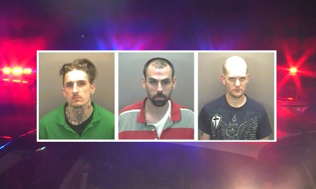Three Men Arrested on Burglary Charges in Orange County