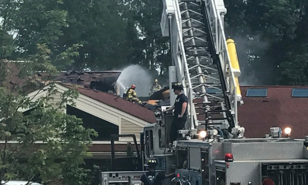 Two Firefighters Treated for Heat Exposure After Carol Woods Fire