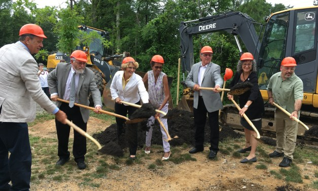 Groundbreaking Held for Rogers Road Sewer Project 40 Years in the Making
