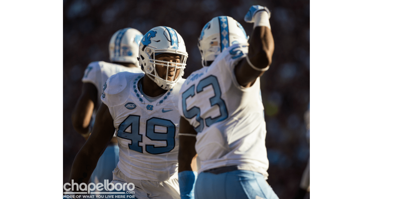 UNC Football Picked to Finish Fifth in ACC Coastal Division
