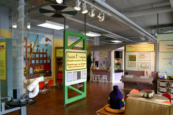 exhibit area-construction angle