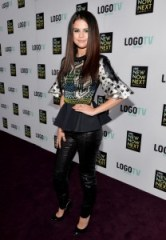 Fall Fashion Selena leather leggings