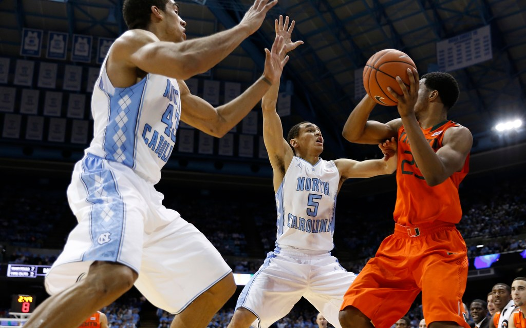 Hurricane Warning: Tar Heels Drop Second Straight in ACC 63-57