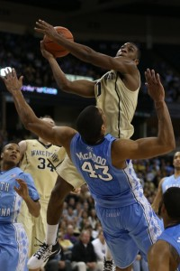 UNC vs. Wake Forest 041
