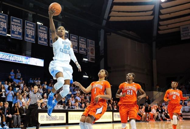 Carolina Women Open NCAA Play at Carmichael Sunday