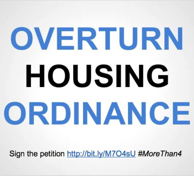 UNC Students Petition CH Housing Ordinance