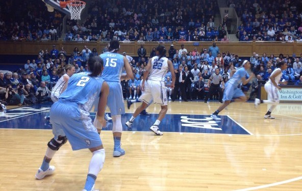 No. 17 Tar Heels Topple No. 3 Blue Devils 89-78 In Gritty, Determined Effort