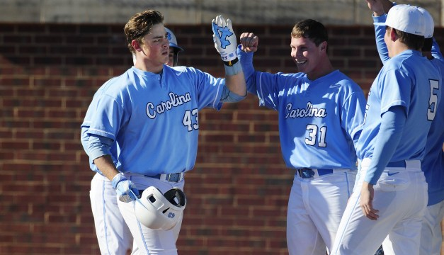 Carolina Baseball Records First Series Sweep of Season, Downs North Florida