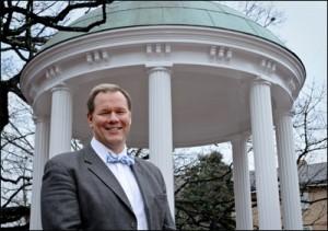 Dr. Bruce Carins, photo courtesy University Gazette