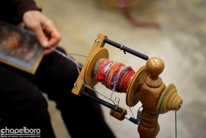 Spinning at Kidzu