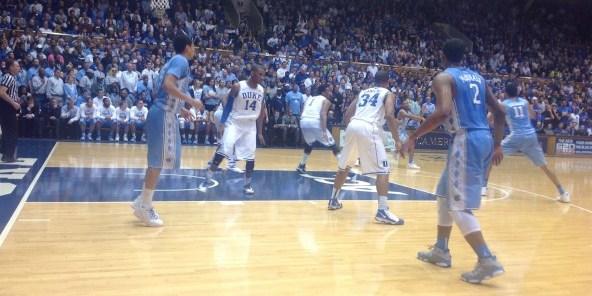 No. 4 Duke Defends Home Court, Snaps No. 14 Carolina's 12-Game Streak