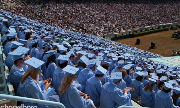 Commencement Weekend in Chapel Hill