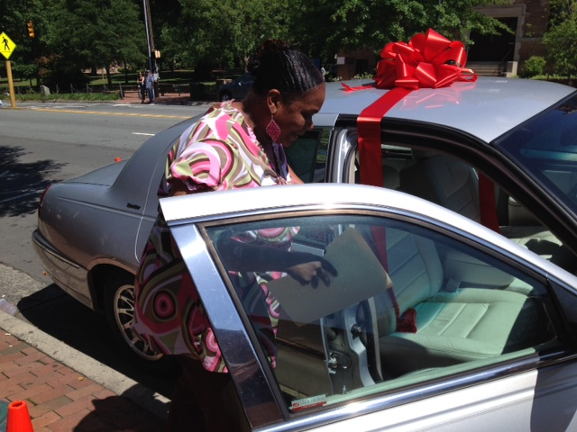 CH Community Works Together to Provide Car for  Home Health Worker