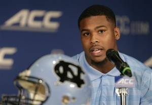 Otis at ACC Kickoff (AP)