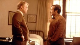 "Two talented actors lost their lives in 2014, Philip Seymour Hoffman (L), Robin Williams (R) Photo from ""Patch Adams"" posted on LifeDaily.com"