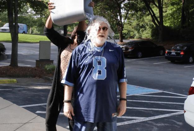 Ron Stutts Takes #IceBucketChallenge