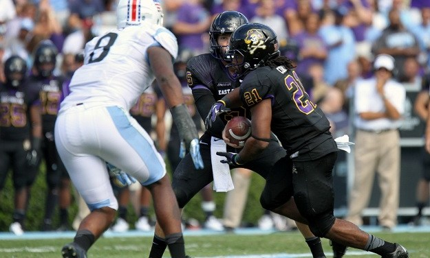 ECU Football Shatters Records In 70-41 Defeat Of UNC
