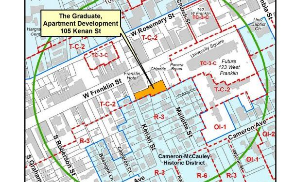 Council Hears Plans For Graduate Housing Downtown