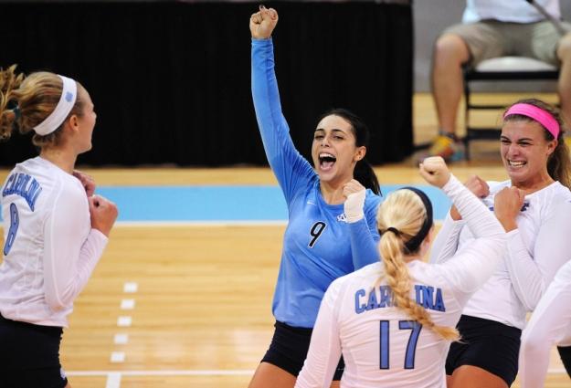 UNC Volleyball Ends Historic Season