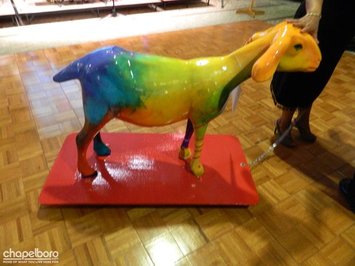 Galloway Ridge Goat Parade