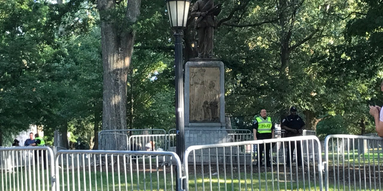 UNC Police Address Use of Undercover Officer at Silent Sam Protest