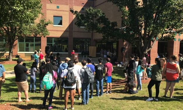 East Chapel Hill High Celebrates New Solar Initiative