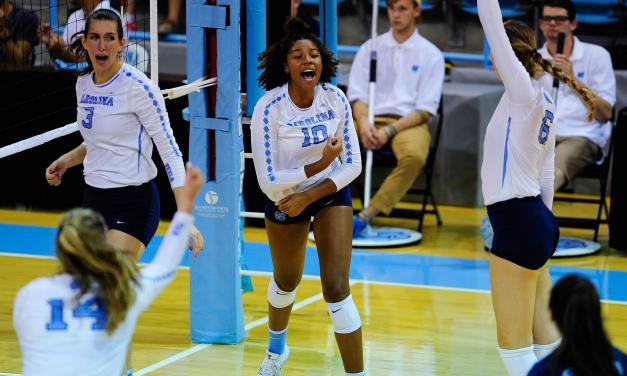 Volleyball: Tar Heels Knock Off Clemson For Second Straight ACC Win