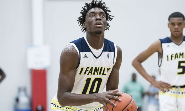 UNC Lands Top 10 Hoops Recruit Nassir Little