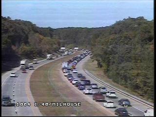 I-40 West Traffic Delayed After Orange County Wreck