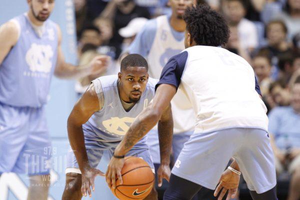 Tar Heels Squeak Past Memphis in Men's Basketball Scrimmage